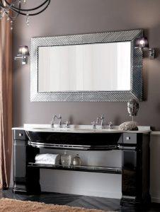 doppio-lavabo-nero-lucido-con-piano-marmo-starlight-bianco